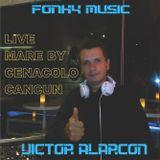 FONKY MUSIC - VICTOR ALARCON (LIVE MARE CANCUN by CENACOLO)