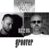 Rado Ka b2b Groover - SwoundSoundSession @ Pratersauna Glashaus 29052019 00:30-01:30