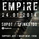 KD3 - Live @ Sfinks700 with Black Sun Empire (24.01.2014)