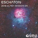 ESCHATON: THE 2018 ALPHA SESSIONS - SHOW 24 18th Sep 2018