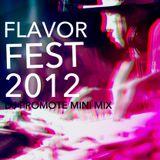 Dj Promote Flavor Fest 2012 LIVE SET