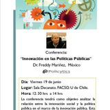 """Conferencia """"Innovación en las Políticas Públicas"""" - Dr. Freddy Mariñez - México"""