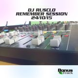 Dj Rusclo Remember session 24-10-2015 OJO CUIDAO!