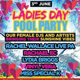 RACHAEL E.C ~ POOL PARTY SET ~ UNITY IN THE SUN ~ 3rd JUNE 2017