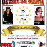 Programa Deuses da Magia 19/01/2016 - Charôn Moonlua e Walkiria Luna