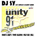 DJ SY + MC'S UPRAW & BARRY GREEN (BANANERGY 1991 / DANCE UNITY HULL)