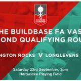 LISTEN AGAIN: Tytherington Rocks 1-8 Longlevens AFC - FA Vase 2nd Q Round (23/09/17)