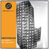 OneFiveEight 12th January 2018