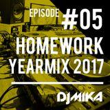 Homework #05 /Facebook Live - Yearmix 2017/ [2017.12.29.]