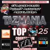 The Top 25 Songs on Tazmania Records