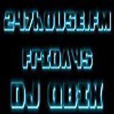 DJ QBIX Live@247House.fm DJK#239pt.1 House 1-1-2016