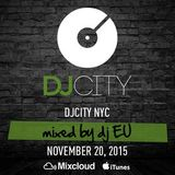 DJ EU Presents DJ City FridayFix - November 20 2015