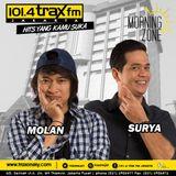 Surya Molan MorningZone TraxFMJKT 4 November 2016