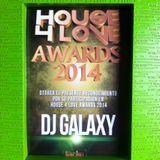 Dj Galaxy at House4Love Awards 2014