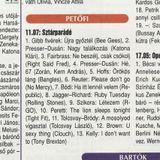 Sztárparádé. Szerkesztő: Szőke Cecília. 1999.03.20. Petőfi rádió. 11.07-11.57.