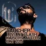 taucher live at flash kaiserslautern okt 2015