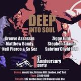 Exclusive Matt Bandy Mix for Deep Into Soul's 1st Birthday 25.02.2012