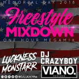 DJ Lucky x DJ Crazyboy - Memorial Day Mixdown 2018 (Freestyle)