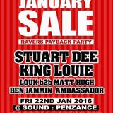 KING LOUIE - Recorded LIVE @ TNT presents Raver Payback @ Sound Nightclub, Jan 2016