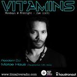 Vitamins ep60 hr1 - Motoe Haus - www.ibizaliveradio.com