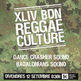 FRIENDLY TUNE FI TUNE (BADALONIANS & DANCE CRASHER SOUND) @ XLIV Bdn Reggae Culture (12-09-14)