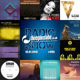 DEEPINSIDE RADIO SHOW 095 (Jay-J Artist of the week)