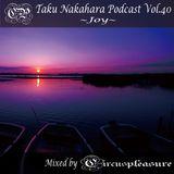 Taku Nakahara Podcast Vol.40 −Joy− Mixed by CircusPleasure