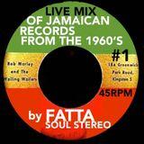 FATTA 60's LIVE MIX Of JAMAICAN RECORDS