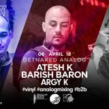 Atesh K. & Barish Baron (b2b) at Berlin club - 06.04.2019