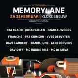 Dave Lambert Live @ Memorylane 2015 (Klokgebouw, Eindhoven) – 28.02.2015
