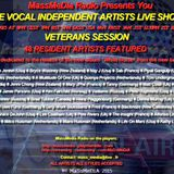 Recording of The Veterans Session Of The Vocal Independent Artists Live Show on September 26th 2015