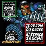 Dazee Presents The Ruffneck Ting Take Over 25.08.2016 with Bassface Sascha Guest Mix
