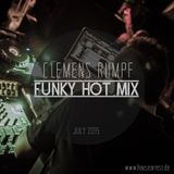 CLEMENS RUMPF - FUNKY HOT MIX JULY 2015 (www.housearrest.de)