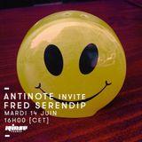 Antinote invite Fred Serendip - 14 Juin 2016