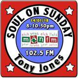 Soul On Sunday 14/01/18 with Tony Jones on MônFM Radio - P H I L A D E L P H I A  SOUL special.