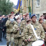 Remembrance Day Service from Abbey Terrace