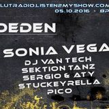"""""""Technoeden - the Show"""" auf Radio Herzblut (05.10.2016)"""