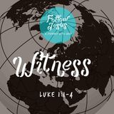 Follow Jesus Series - 01 Witness