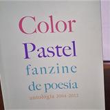 Columna Banquete de Palabras por María Alicia Gutiérrez - Color pastel fanzine de poesía