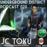 Underground District 020 Special Guest JC TOKU (Perú)