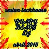 sesion tech house guarybeats dj abril 2015.