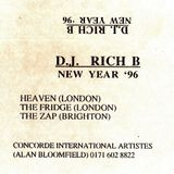 Rich B History: Mixtape January 1996. *EXPLICIT FROM START*