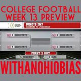 WithAnOhioBias College FB Week 13