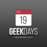 Geekdays #833: Week Starting March 25th