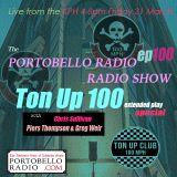 Portobello Radio Radio Show Ep 100, with Chris Sullivan, Piers Thompson & Greg Weir: Ton Up 100.