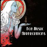 For Music Appreciators  28/05/2016