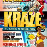 KRAZE 2015 promo cd (carnival warm up)