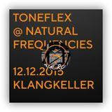 Toneflex @ Klangkeller Fulda, natural frequencies FINAL ROUND 12-12-2015
