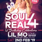 Soul 4 Real Promotional Mix Feb 2019 - Mixed by DJ Shadez, Ice & Bizzle