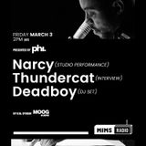 MIMS RADIO Weekly Session (03.03.17) feat Narcy, Thundercat and Deadboy